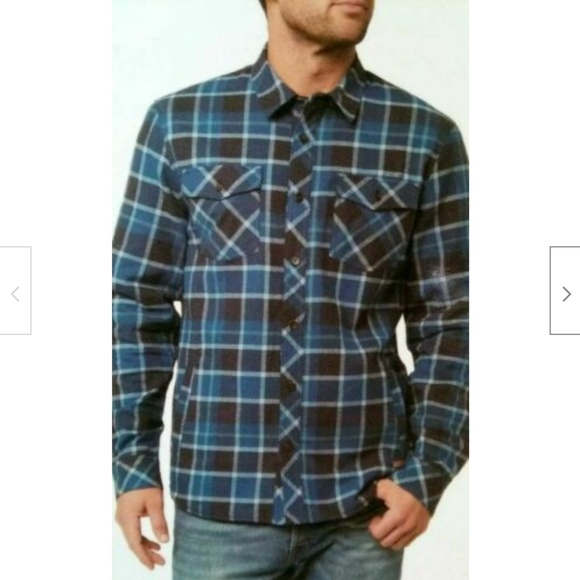 VOYAGER Other - Voyager Flannel Shirt Thermal Lined Plaid Shirt Mo